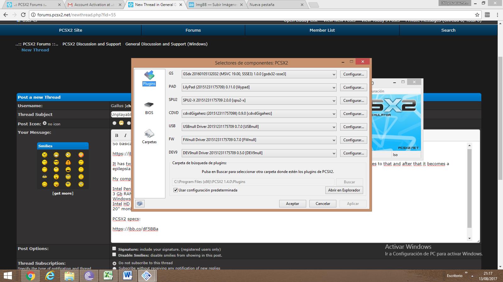 PCSX2 Forums ::   - All Forums