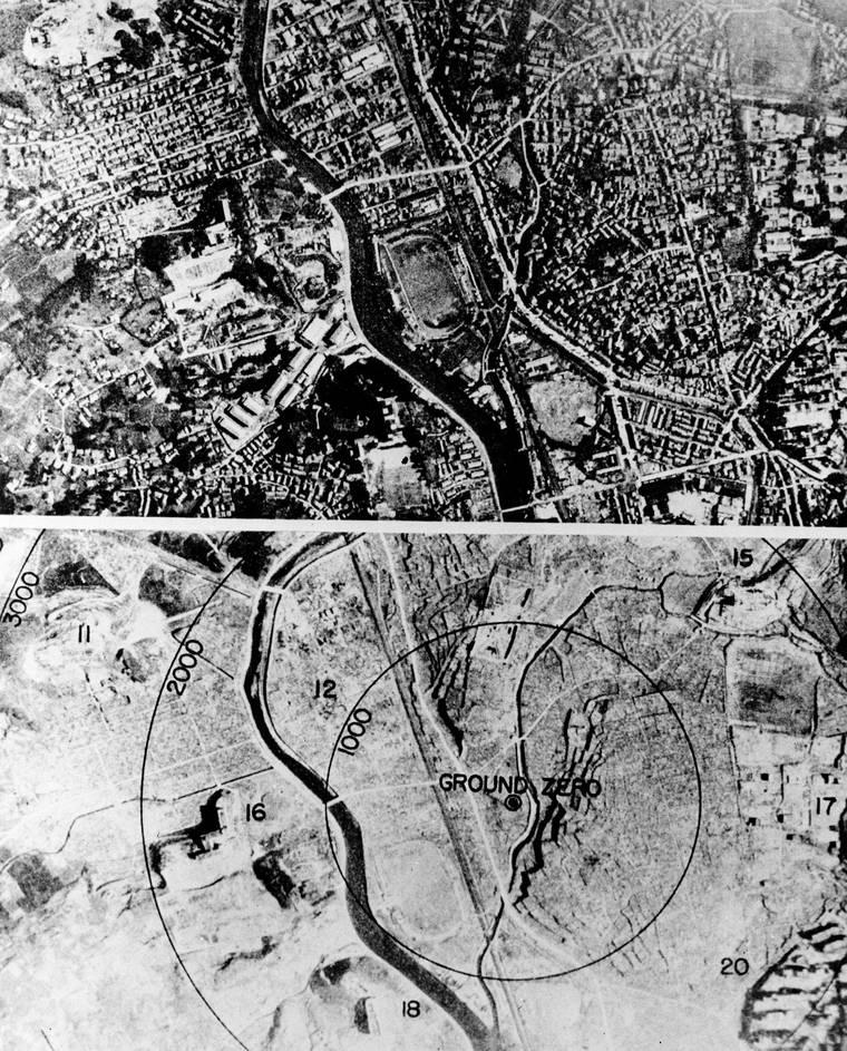 Ναγκασάκι, πόλη της Ιαπωνίας πριν και μετά τον Β' παγκόσμιο πόλεμο