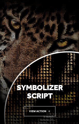 Symbolizer Photoshop Action