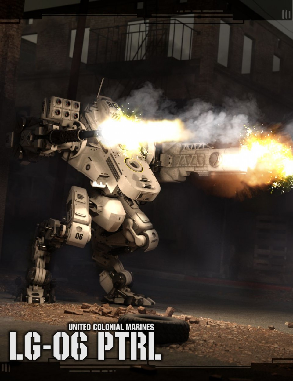 LG06 Combat Mech