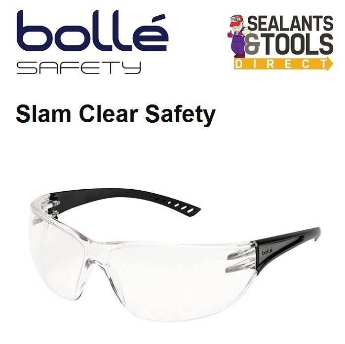e6a24df779 Bolle Slam Approved Safety Glasses - Clear