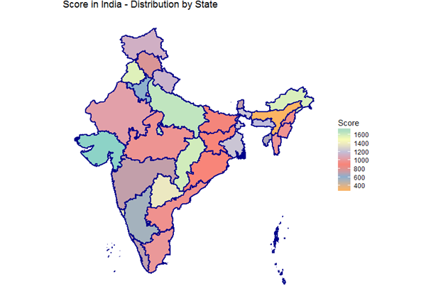 recent choropleth map of india Choropleth Maps In R recent choropleth map of india