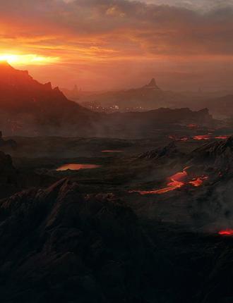 Volcanes de los Dragones