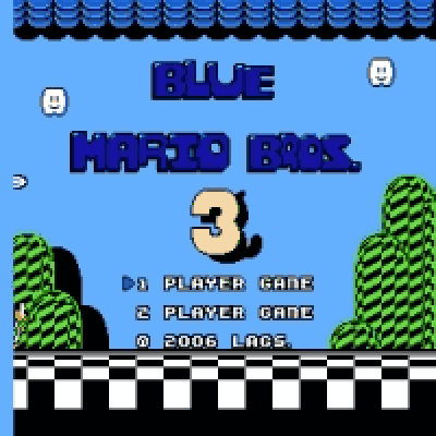 A New Adventure + Blue Super Mario Bros 3 (LAGS) Remake