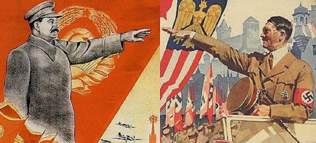 Ναζιστική Γερμανία-Κομμουνιστική ΕΣΣΔ