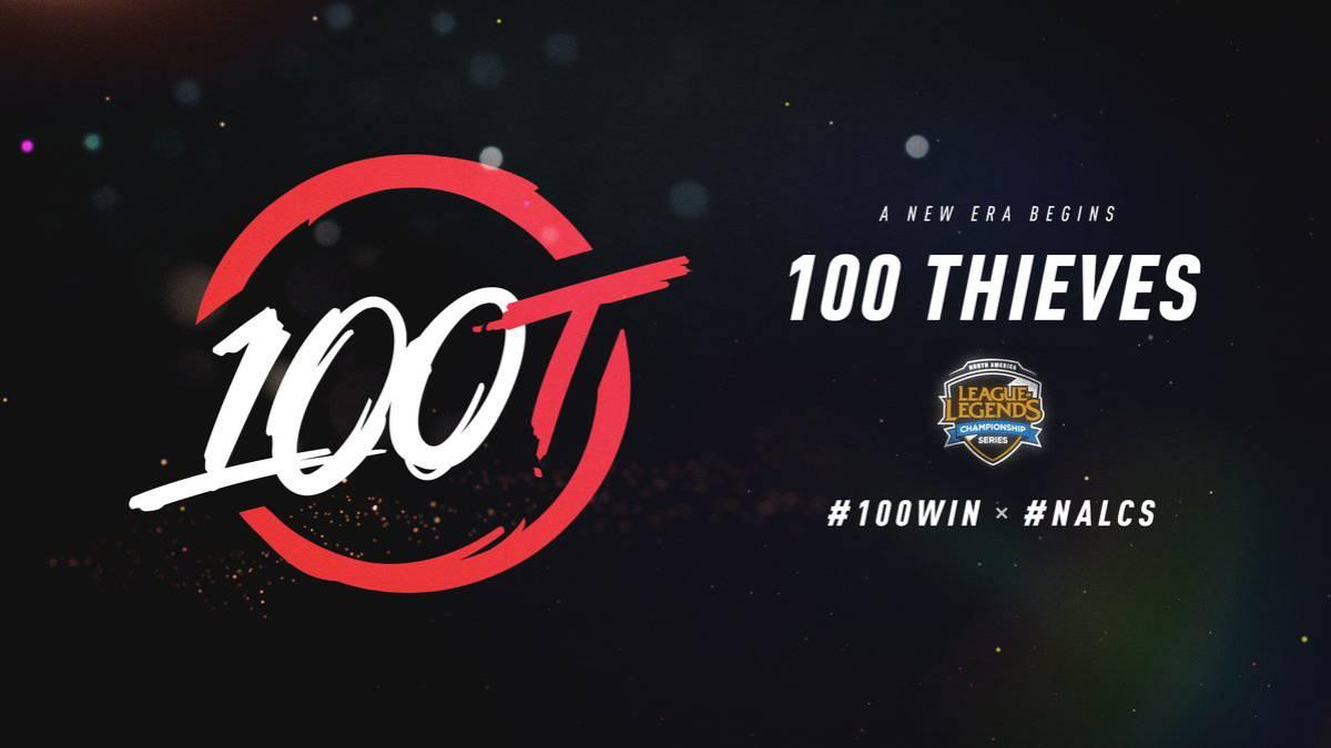 100 Thieves en la LCS Norteamericana | Fuente: Twitter
