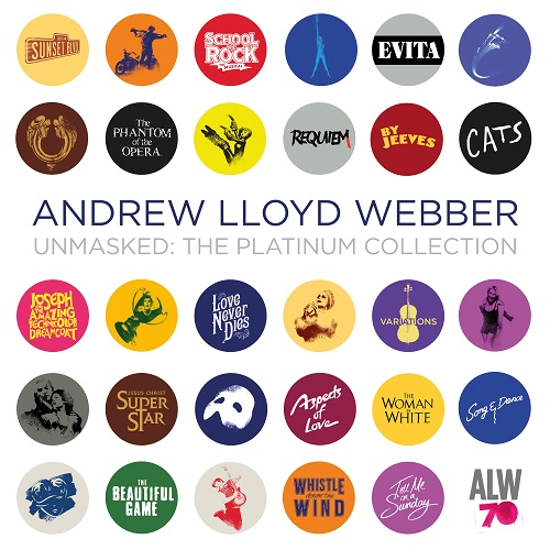 Andrew Lloyd Webber - Unmasked: The Platinum Collection (Deluxe) (2018) [FLAC]