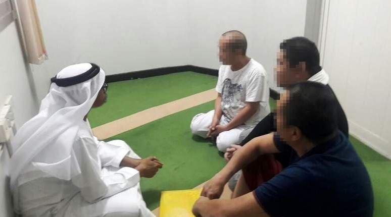 Филиппинские заключенные принимают Ислам в Шардже