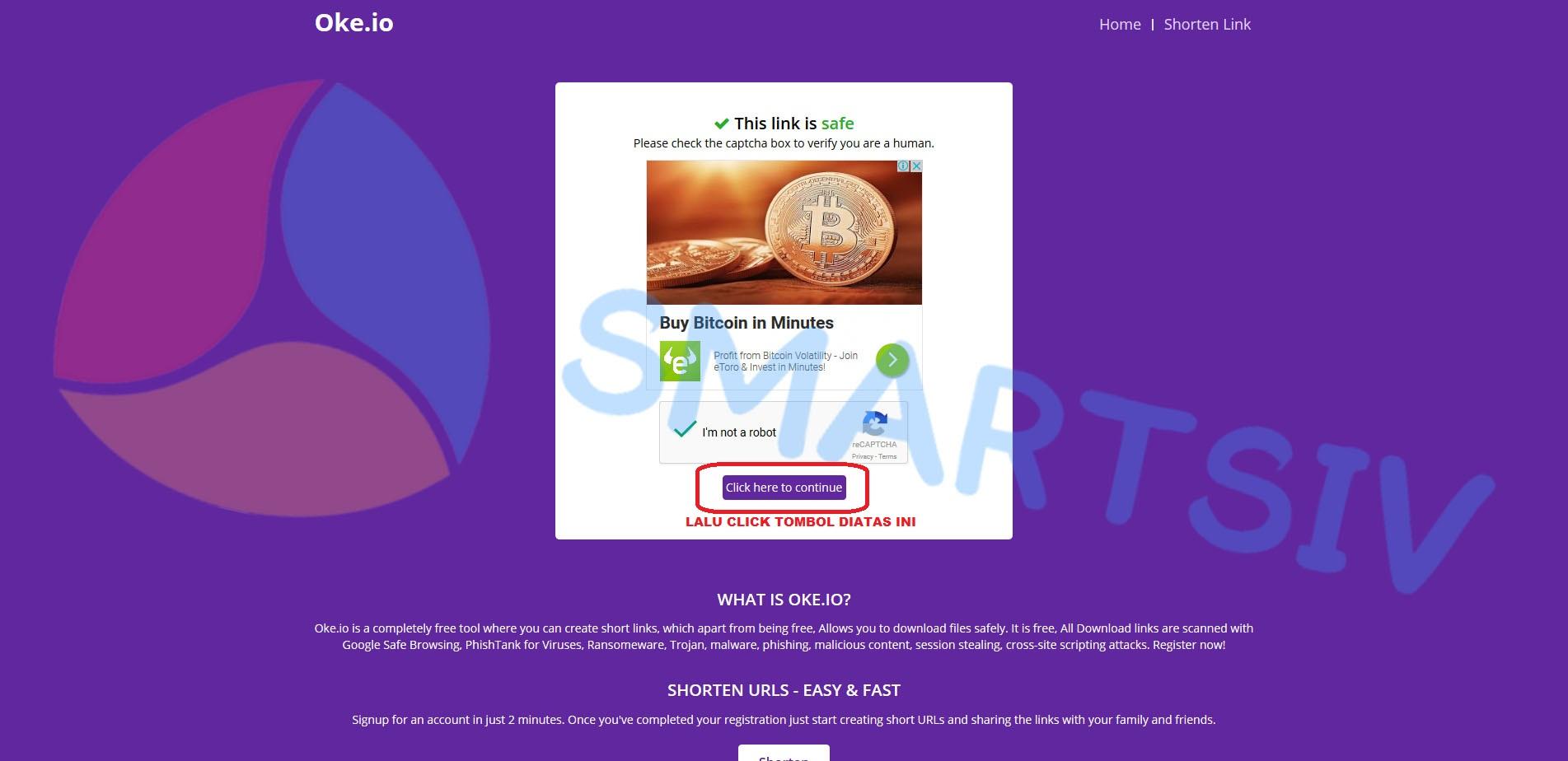 Cara Download Game Atau View Link Di SMARTSIV