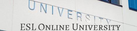 Banner ESL Online Unversity
