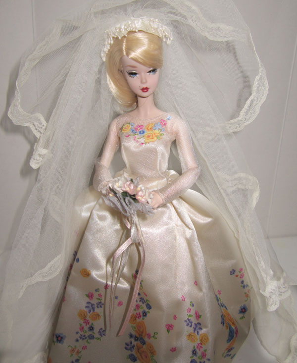 487bdbdcdf8f The newest movie has a modern wedding dress designed for her. My Barbie now  owns it.