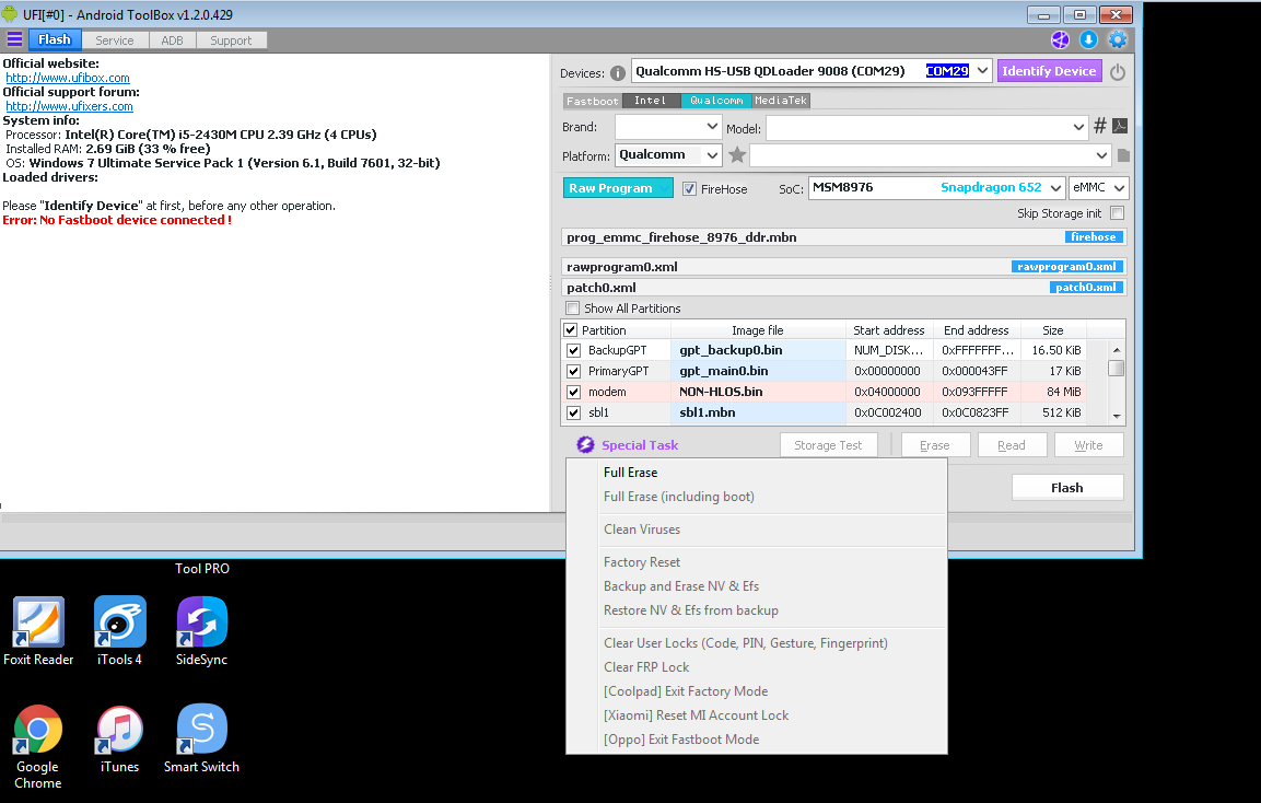 big problems qualcomm new UFI_v1 2 0 429 - UFIXERS Community
