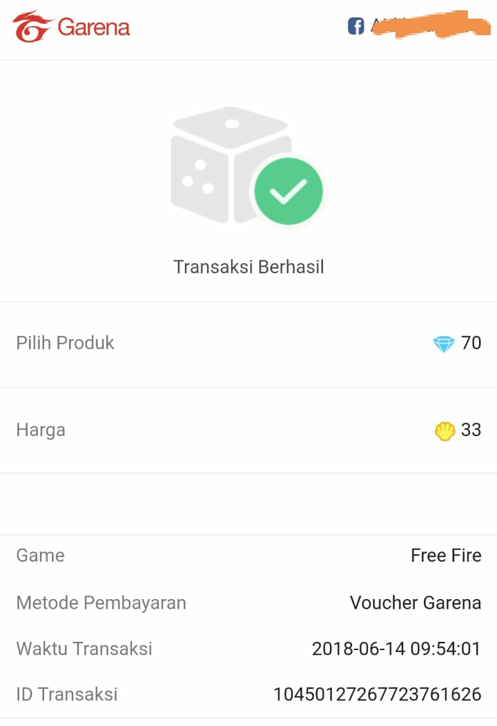 cara top up free fire via pulsa