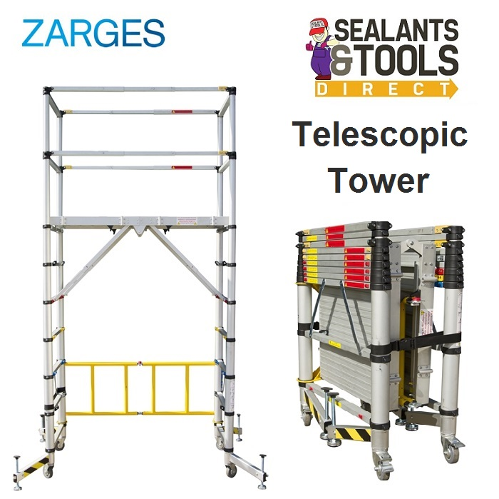 Zarges TT002 Teletower Telescopic Scaffold Tower XMS18TELE
