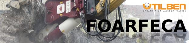 Foarfeca atasament excavator