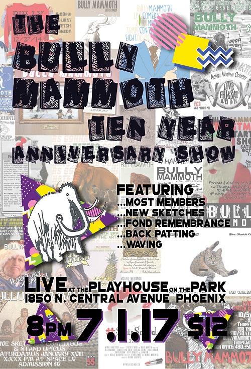 Bully Mammoth Ten Year Anniversary Show