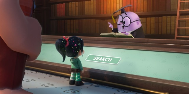Ralph Breaks The Internet Watch Ralph And Vanellope Use A Search