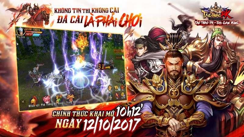 Giftcode - Tào Tháo PK