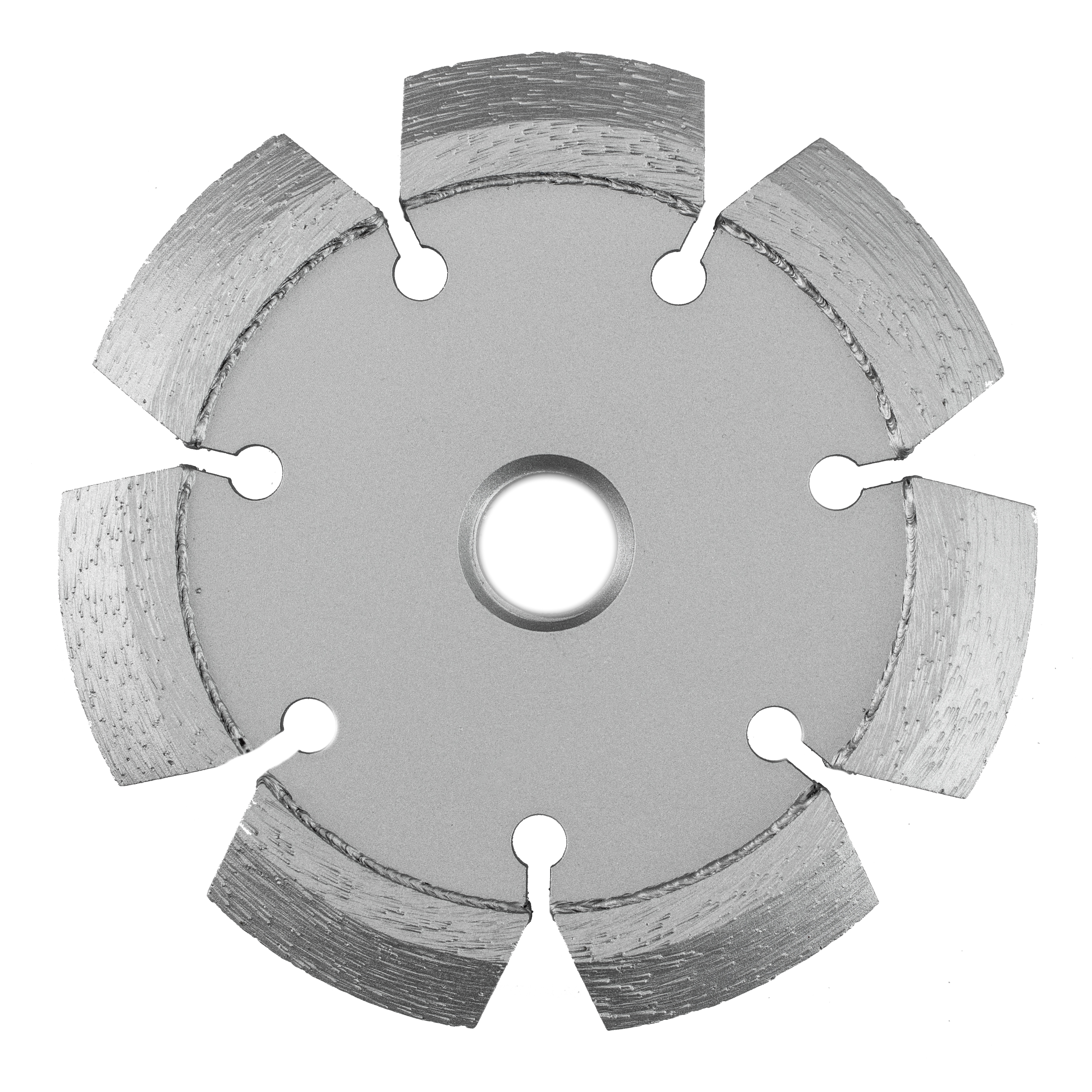 Crack Chaser Blade with V-Shaped Segment