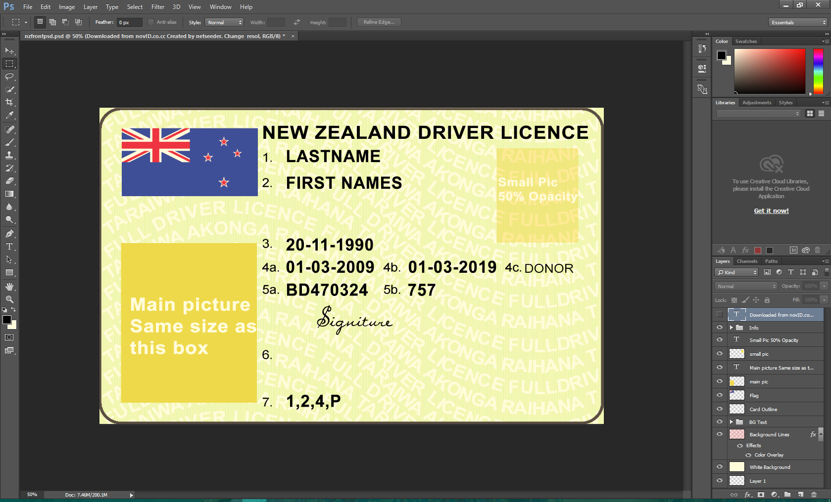 NEW ZEALAND DRIVING LEARNER AND LICENCE