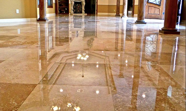 Spot Cleaning Marble Floors