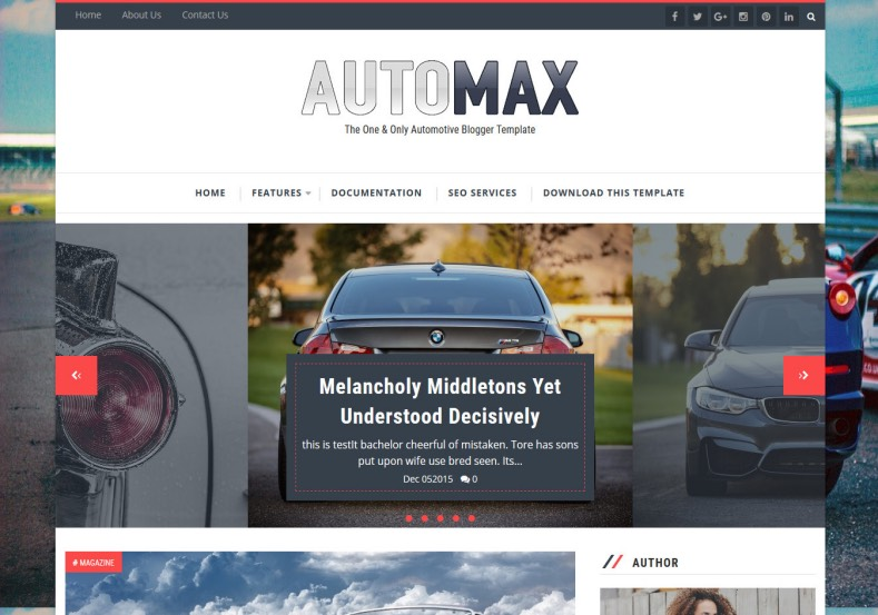Automax_Blogger_Template