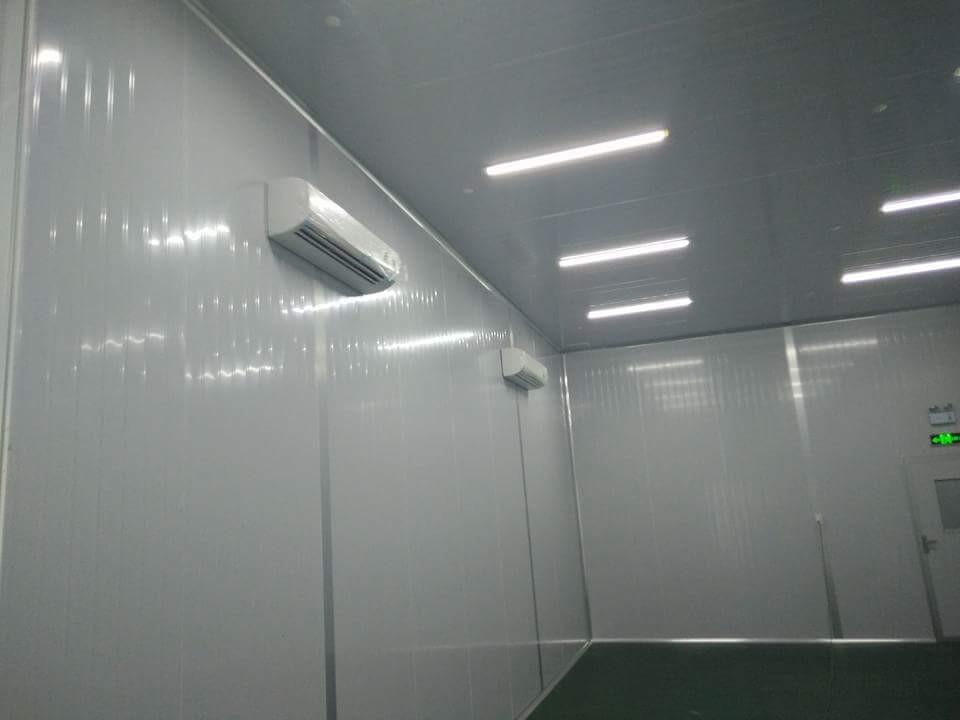phòng lạnh nhà máy sản xuất
