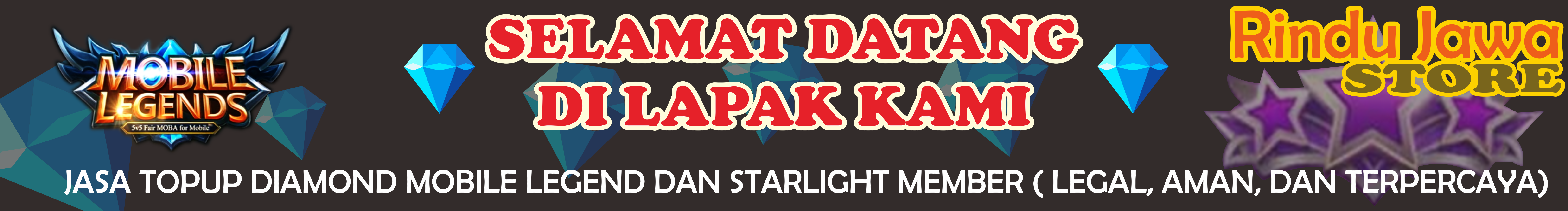 Jual Jasa Topup Diamond Dan Member Starlight Mobile Legend Legal 100 Gift Card Aman