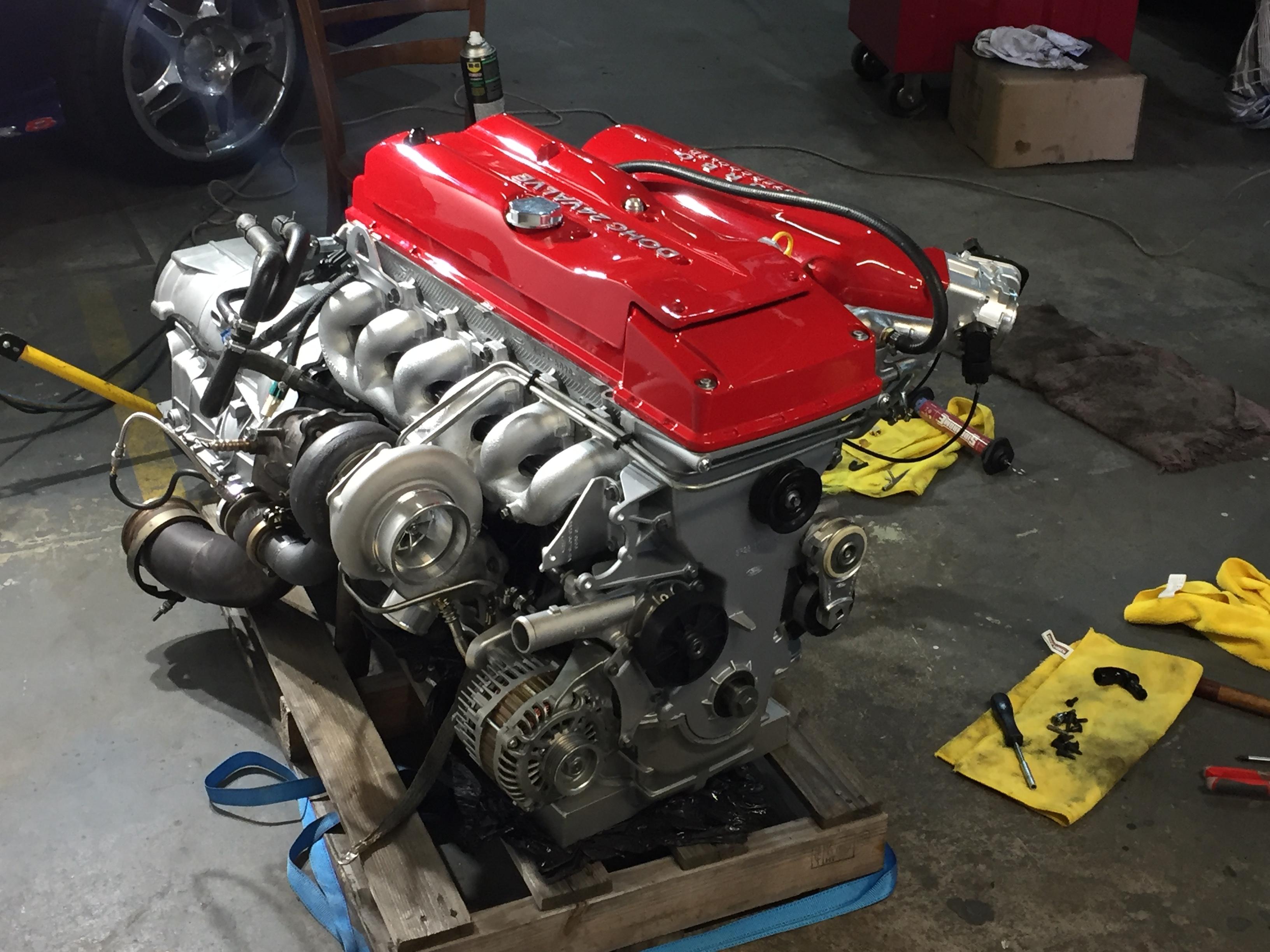 DMP Motor - Engine Workshop - Ford XR6 Turbo com