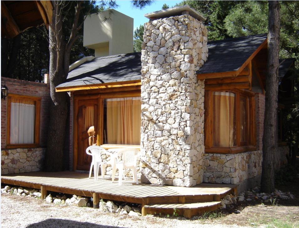 cabaña 2 frente