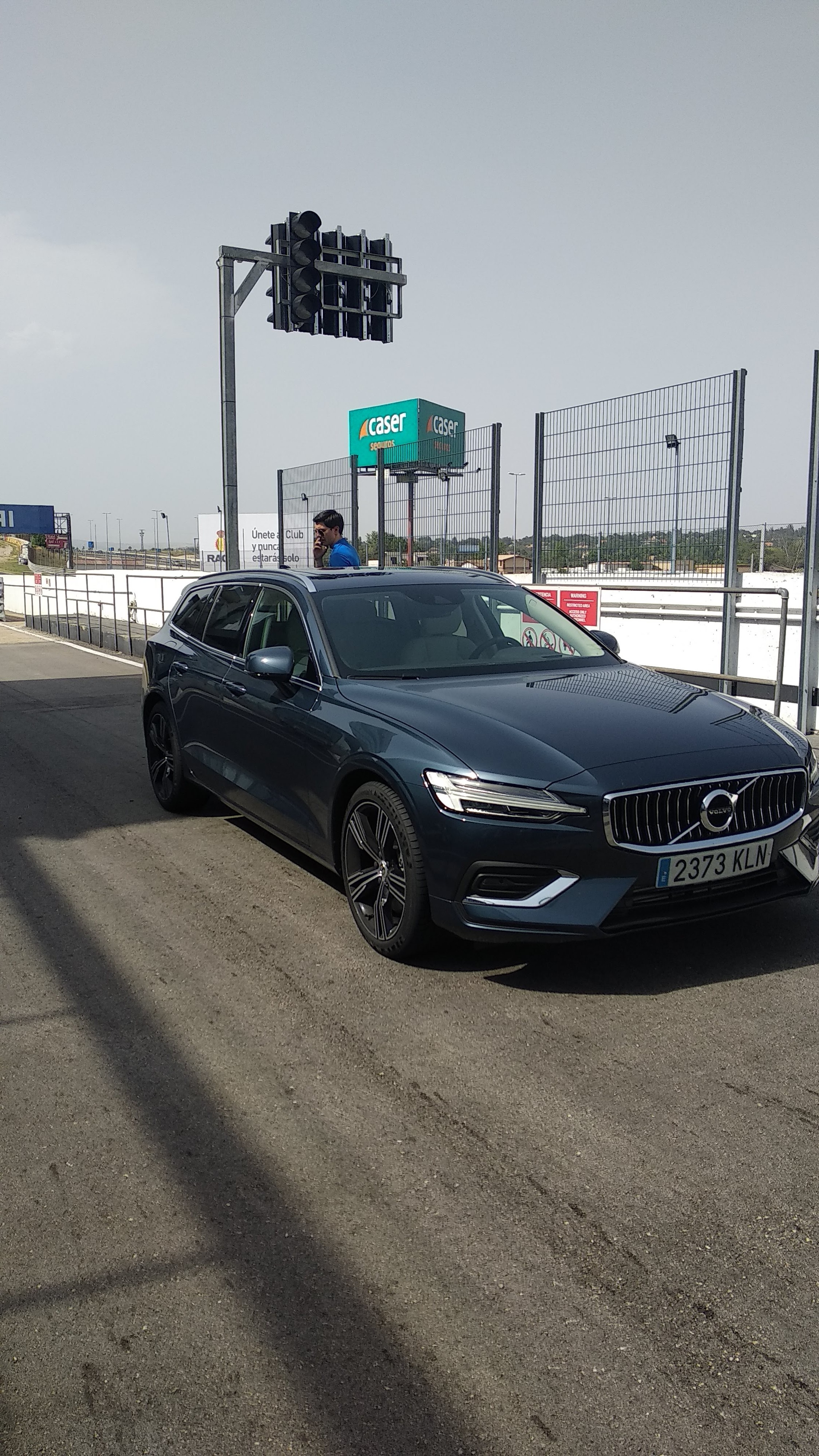 Curso de Conducción segura de Volvo 15
