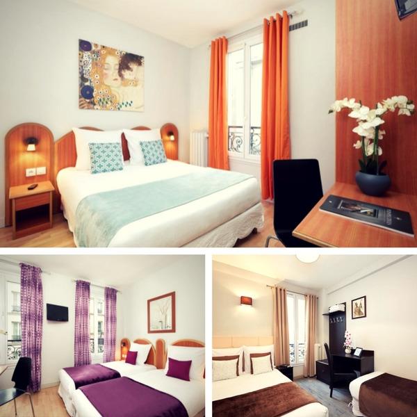Mejores hoteles baratos en París - conpasaporte.com - Hotel Viator