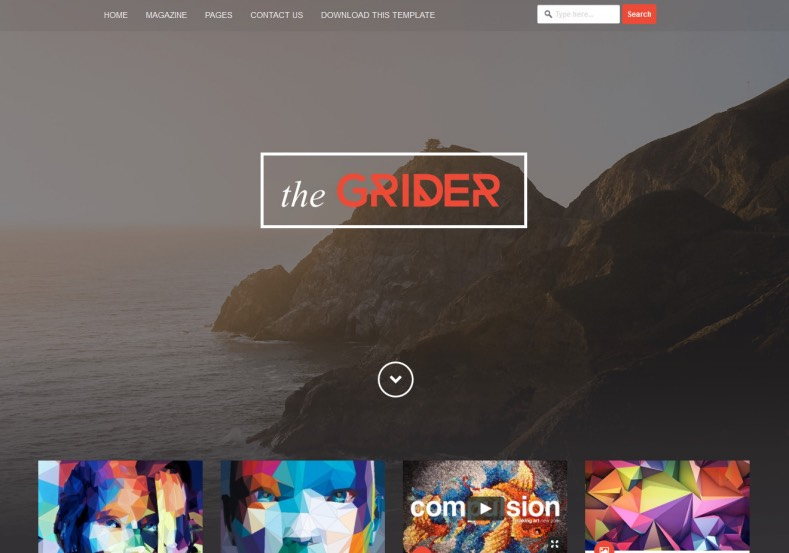 Grider_Blogger_Template