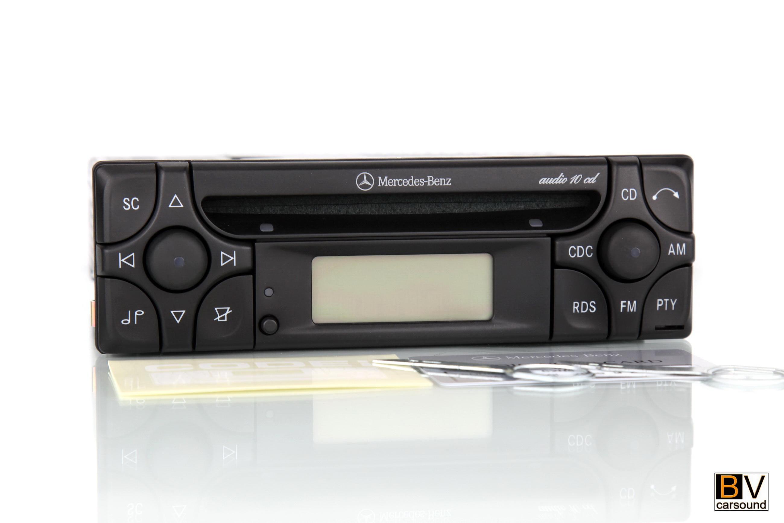 Mercedes Benz Audio 10CD A Klasse W168 C Klasse W202 E Klasse W124