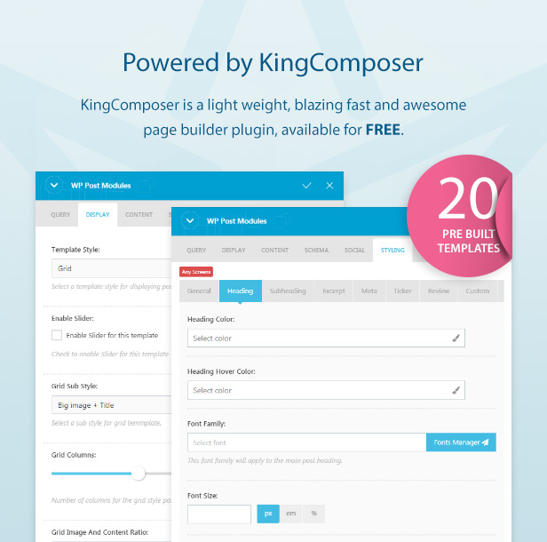 KingComposer addon