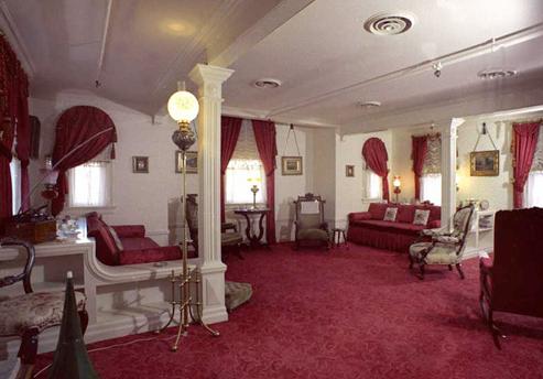 Walt Disney's apartment at Disneyland California