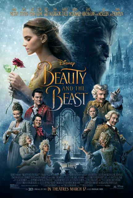 Beauty and the Beast (2017) BluRay 720p 1GB
