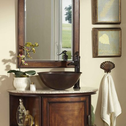 Undermount Bathroom Copper Sinks