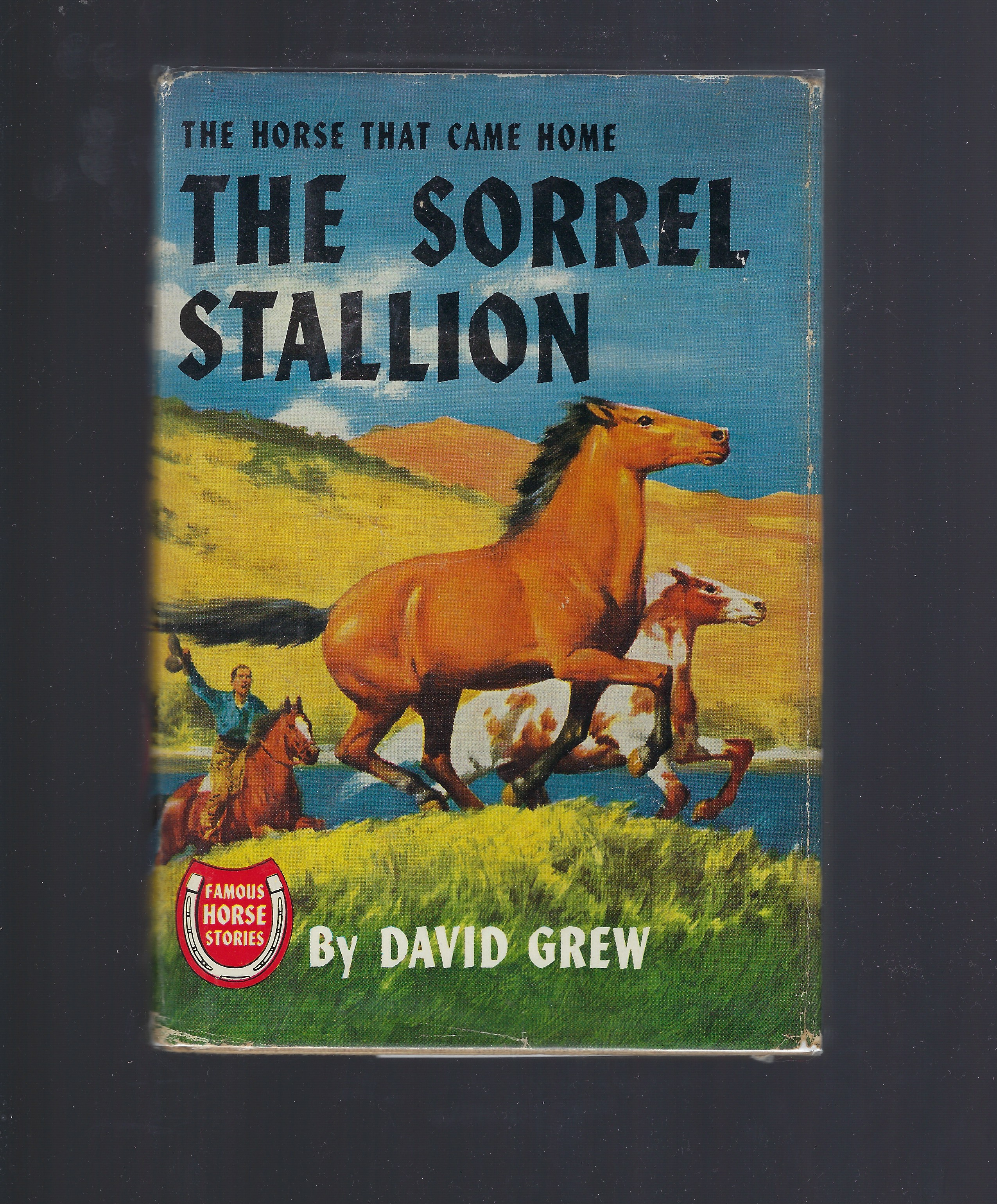 The Sorrel Stallion Famous Horse Stories HB/DJ David Grew, David Grew