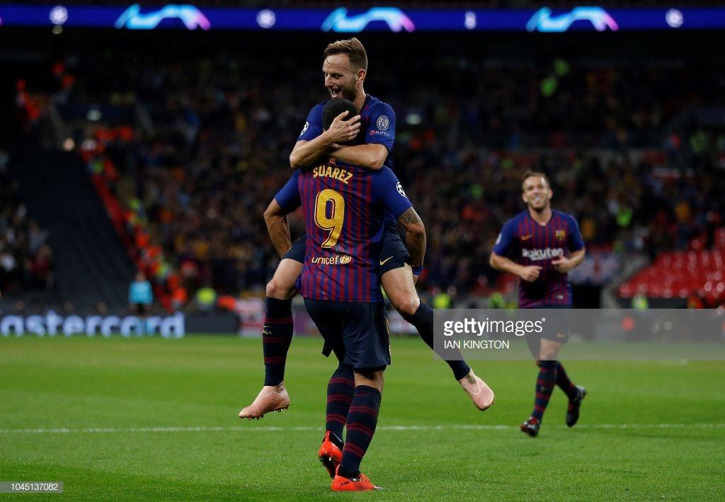 صور مباراة : توتنهام - برشلونة 2-4 ( 03-10-2018 )  E7