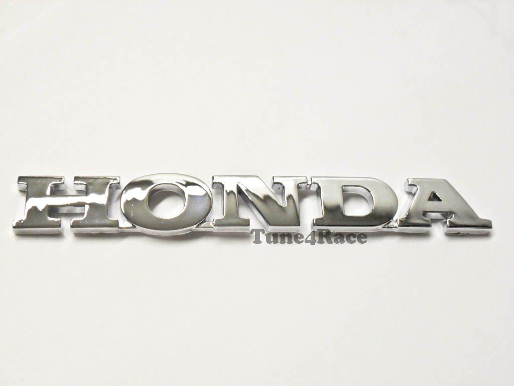 For Honda Logo Chrome emblem badge sicker decal CIVIC ACCORD FIT JDM New | eBay