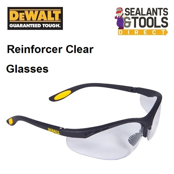 Dewalt Clear Safety Glasses DEWSGRFC
