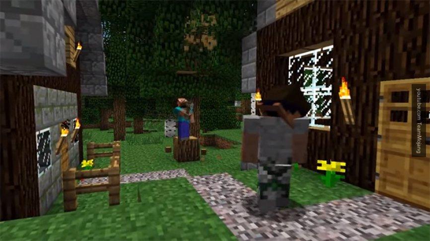 Mojang анонсировал выход RPG-версии Minecraft