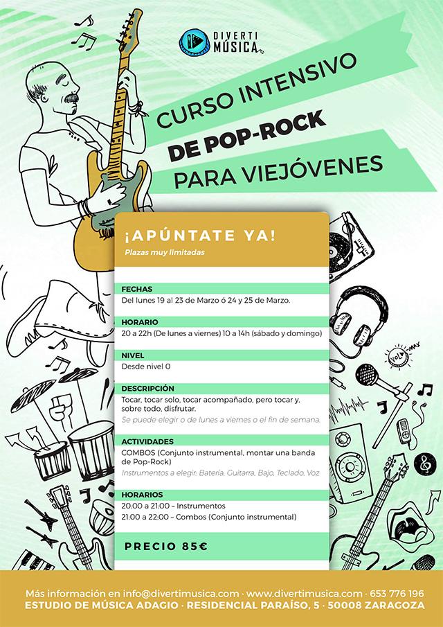 Poprock para Viejóvenes - Curso