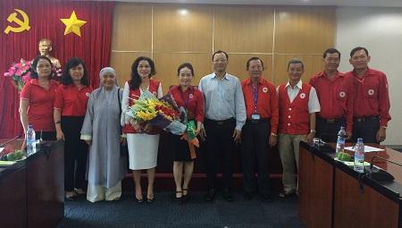 Tỉnh ủy gặp gỡ đoàn Đại biểu Hội CTĐ tỉnh tham dự Đại hội Hội CTĐ Việt Nam lần thứ X