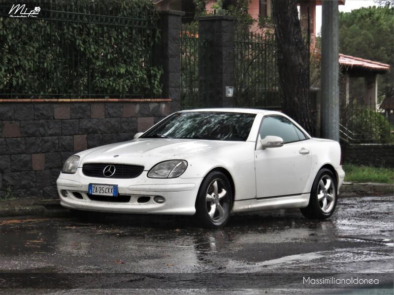Avvistamenti di auto con un determinato tipo di targa - Pagina 18 Mercedes_R170_SLK_ZA254_XX_1