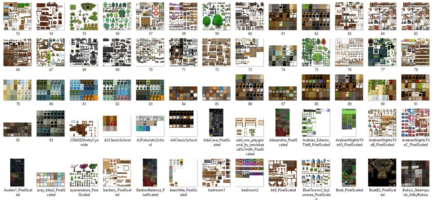1350 Tilset varié (VX ACE et pour MV) Image5