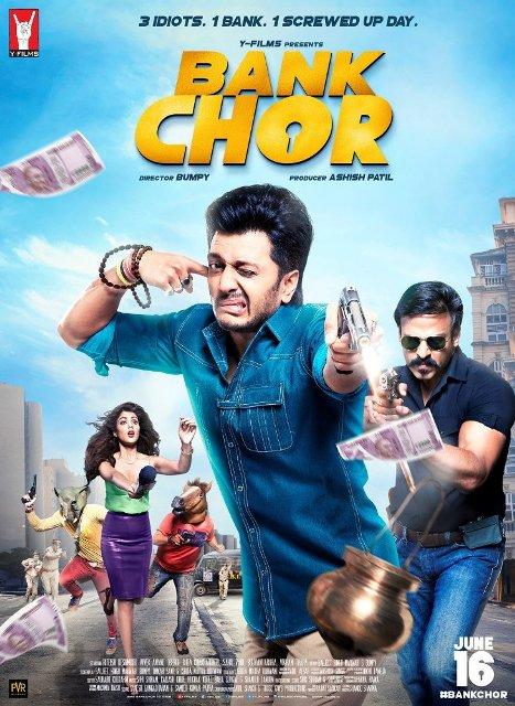 Bank Chor (2017) Hindi 720p DVDRip 970MB