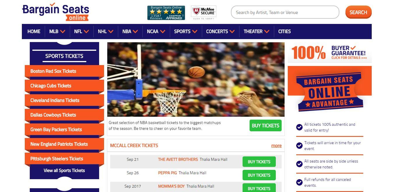Bargain Seats Online Review