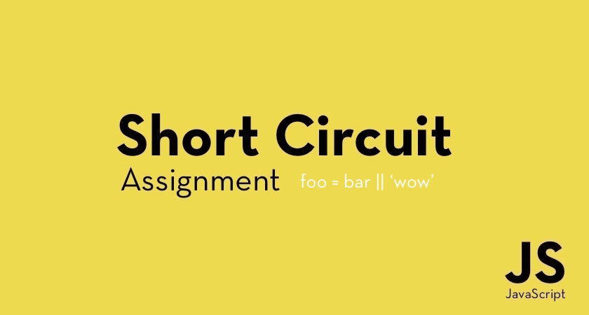 JS short circuit assignment